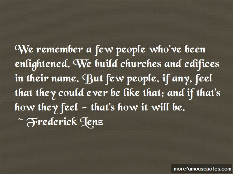 Frederick Lenz Quotes Pictures 2