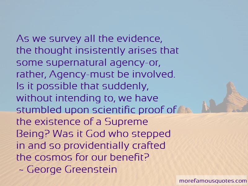 George Greenstein Quotes Pictures 3