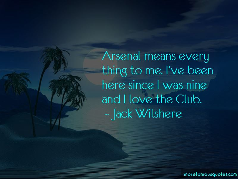 Jack Wilshere Quotes Pictures 3