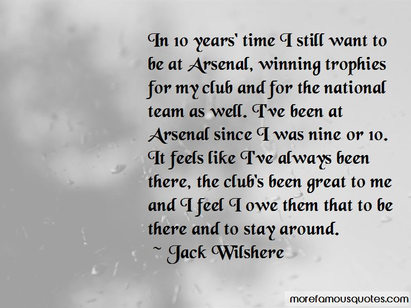 Jack Wilshere Quotes