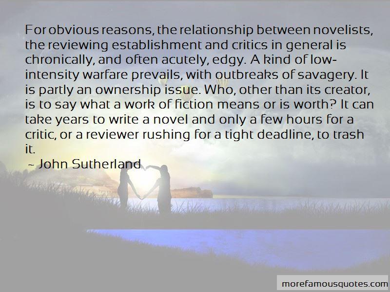 John Sutherland Quotes