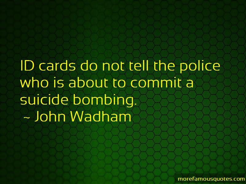 John Wadham Quotes