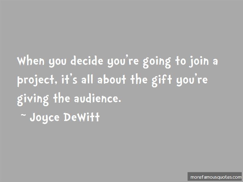Joyce DeWitt Quotes Pictures 2