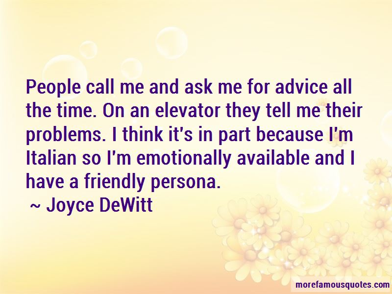Joyce DeWitt Quotes Pictures 3