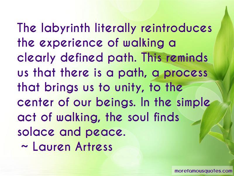 Lauren Artress Quotes Pictures 2