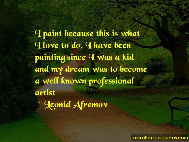 Leonid Afremov Quotes Pictures 2