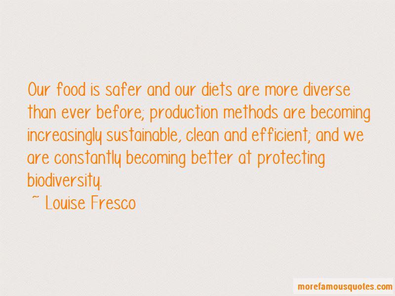 Louise Fresco Quotes Pictures 3