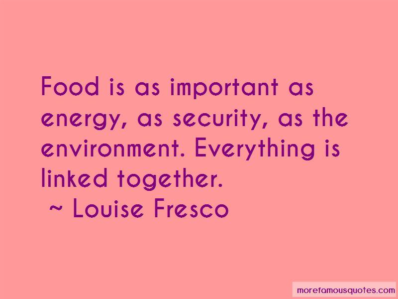 Louise Fresco Quotes Pictures 4
