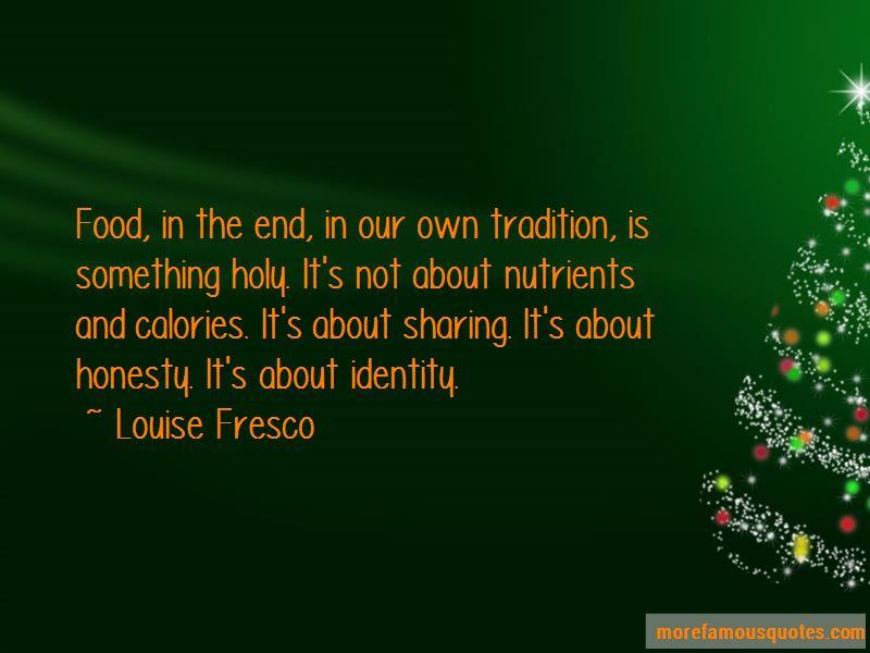 Louise Fresco Quotes