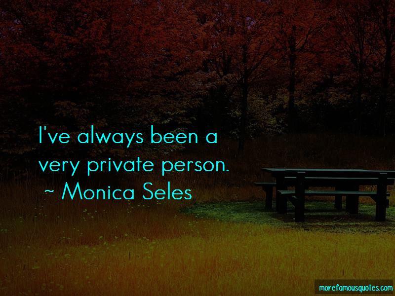 Monica Seles Quotes
