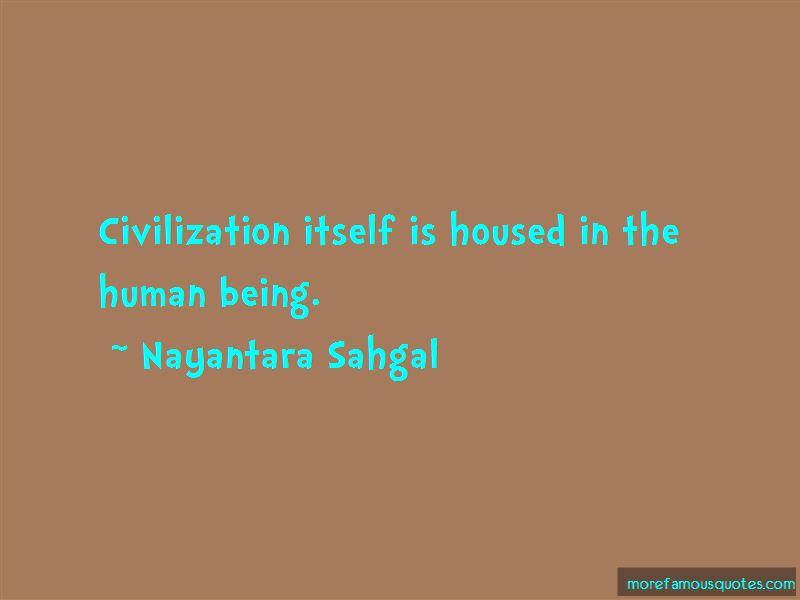 Nayantara Sahgal Quotes Pictures 3