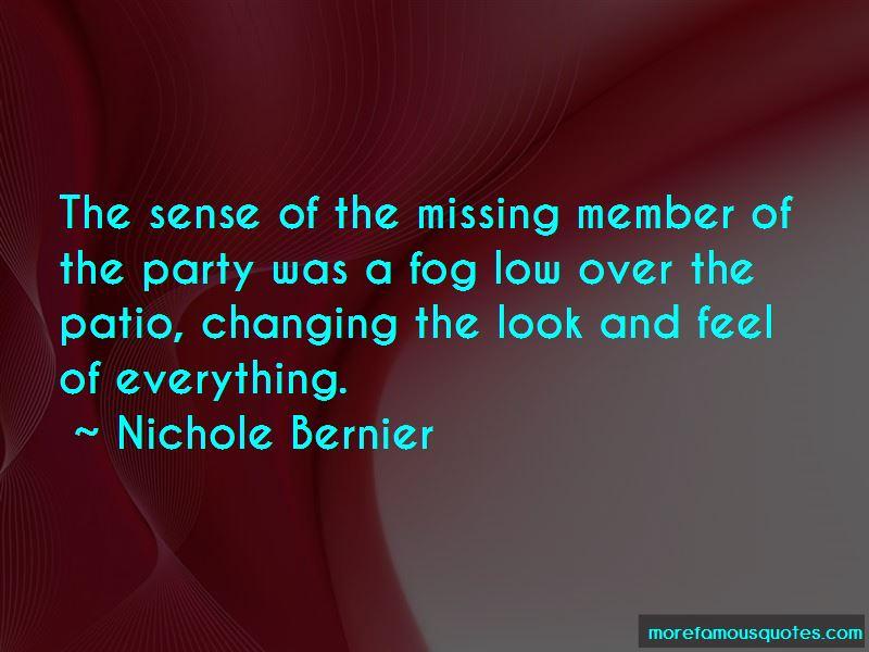 Nichole Bernier Quotes Pictures 3