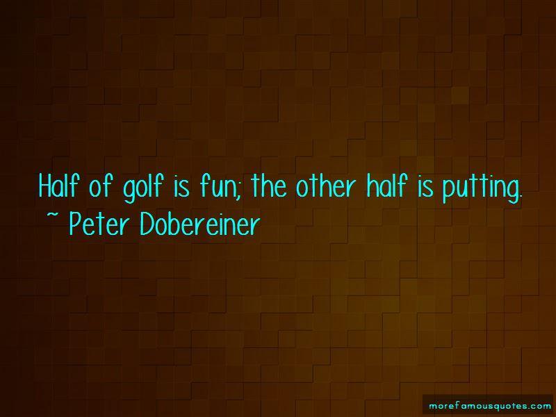 Peter Dobereiner Quotes Pictures 2