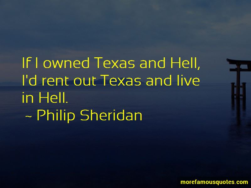 Philip Sheridan Quotes Pictures 4