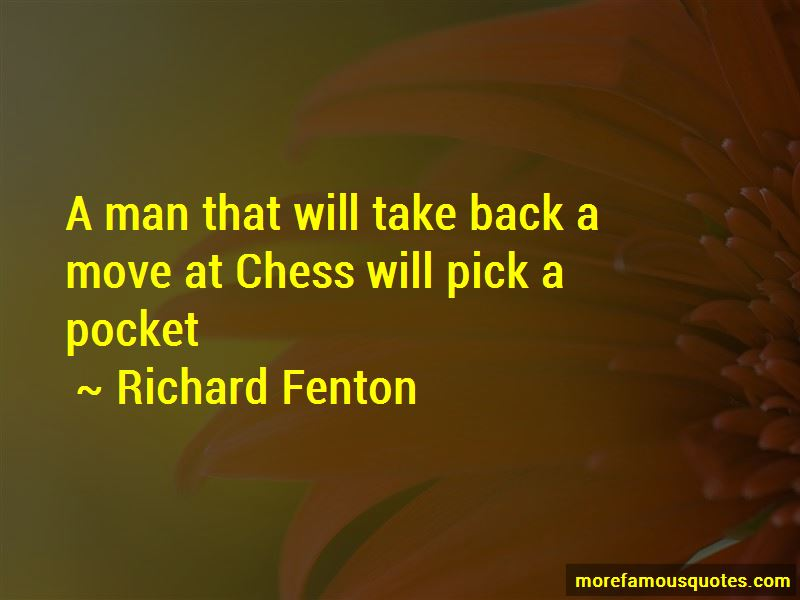 Richard Fenton Quotes