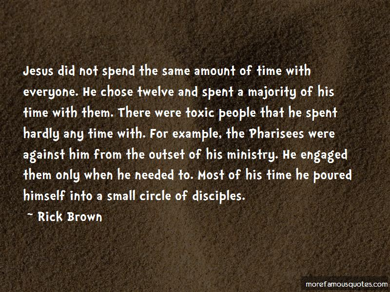 Rick Brown Quotes