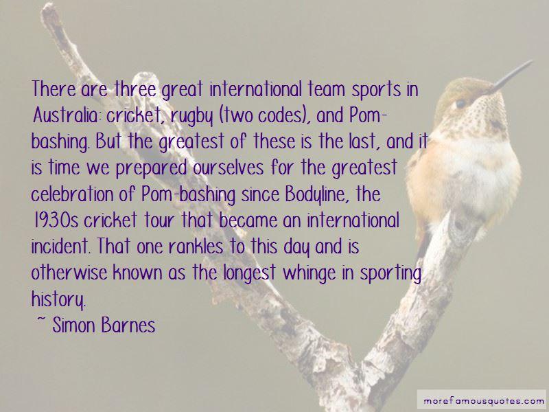 Simon Barnes Quotes Pictures 3