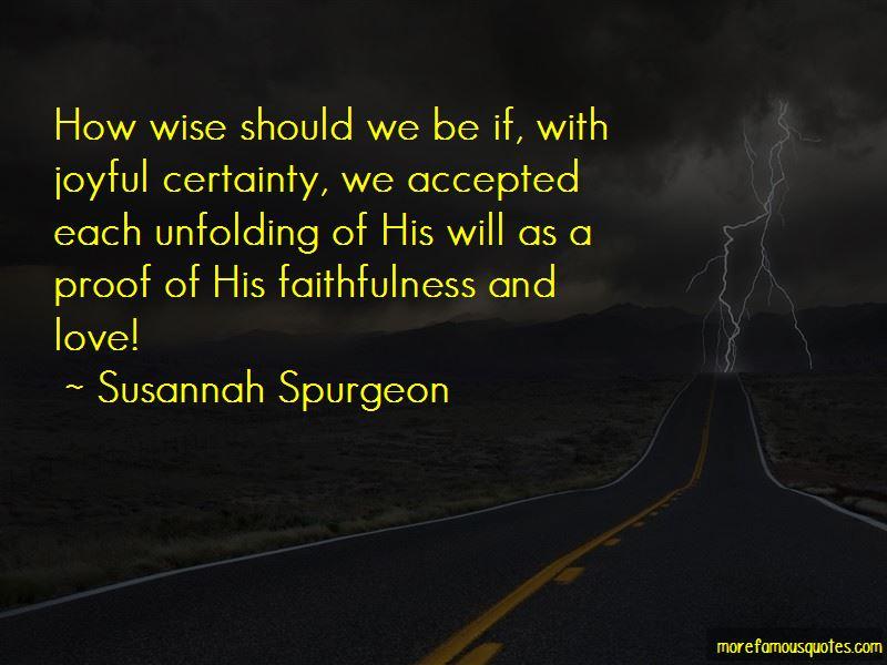 Susannah Spurgeon Quotes