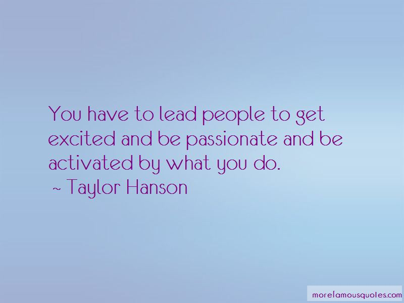 Taylor Hanson Quotes Pictures 2
