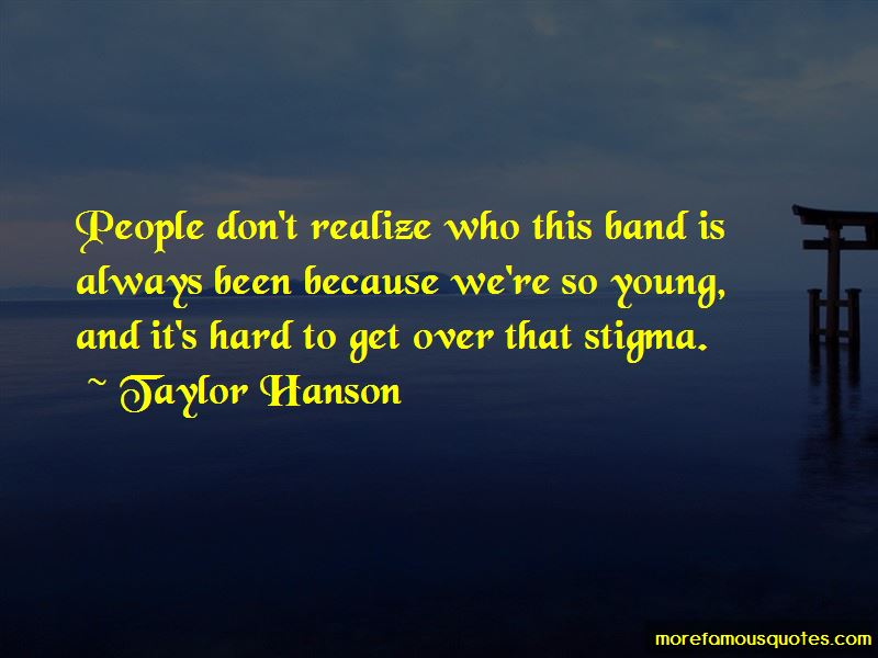 Taylor Hanson Quotes Pictures 4