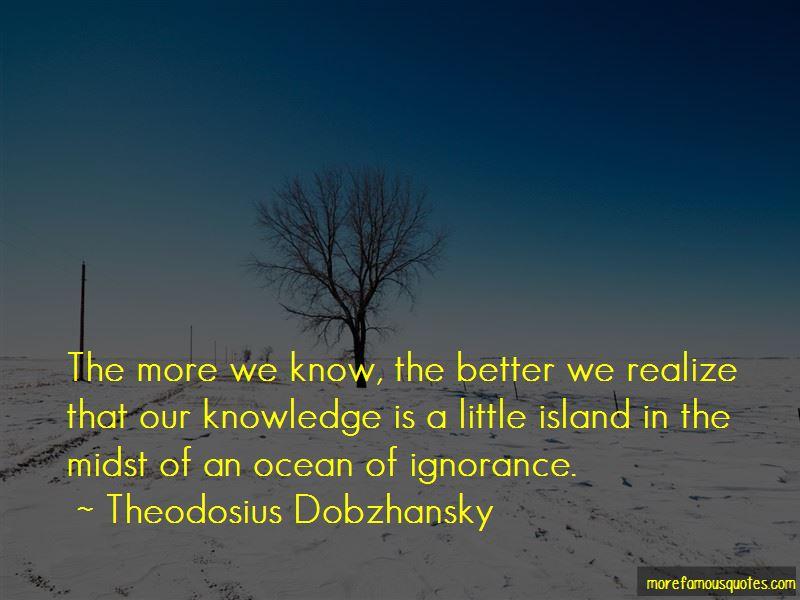 Theodosius Dobzhansky Quotes Pictures 3