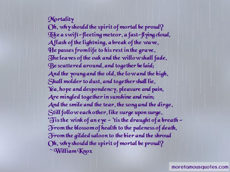 William Knox Quotes