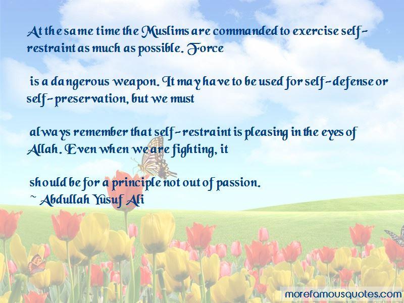 Abdullah Yusuf Ali Quotes