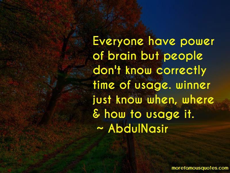 AbdulNasir Quotes Pictures 2