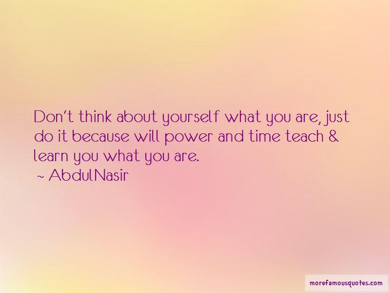 AbdulNasir Quotes Pictures 3