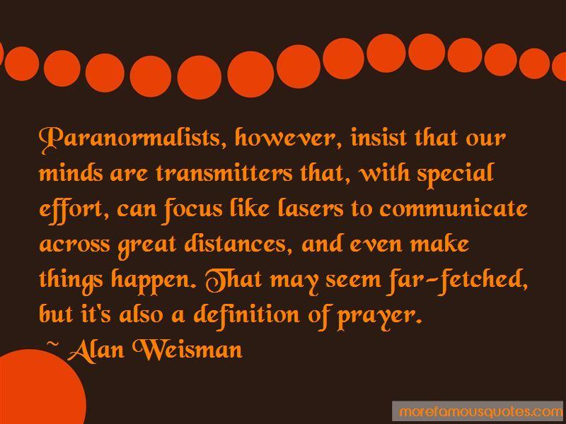 Alan Weisman Quotes