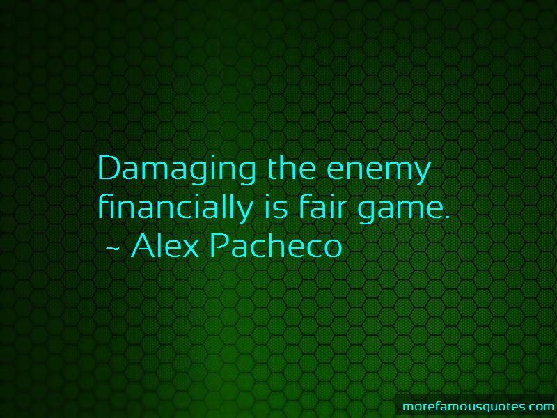 Alex Pacheco Quotes