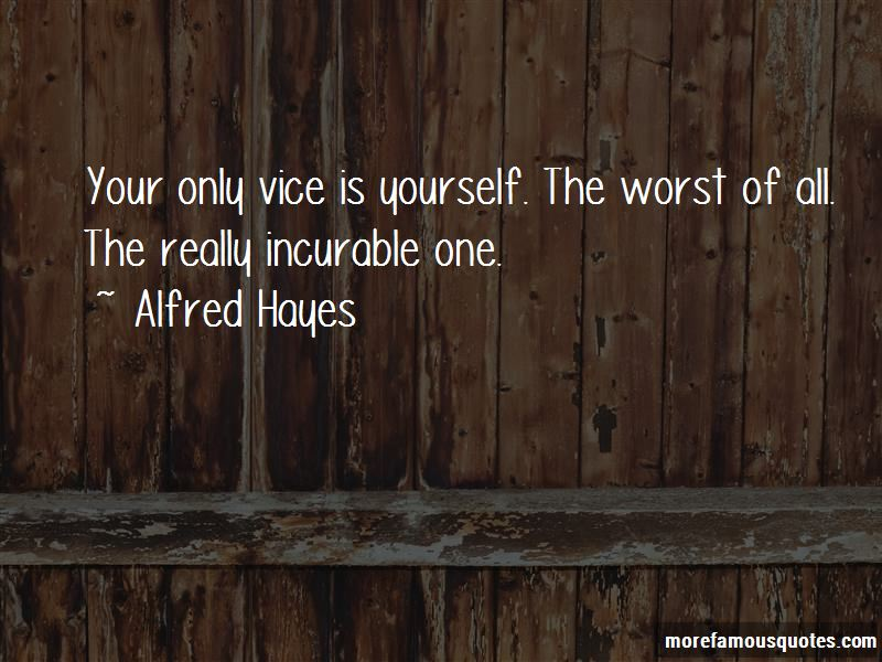 Alfred Hayes Quotes Pictures 3