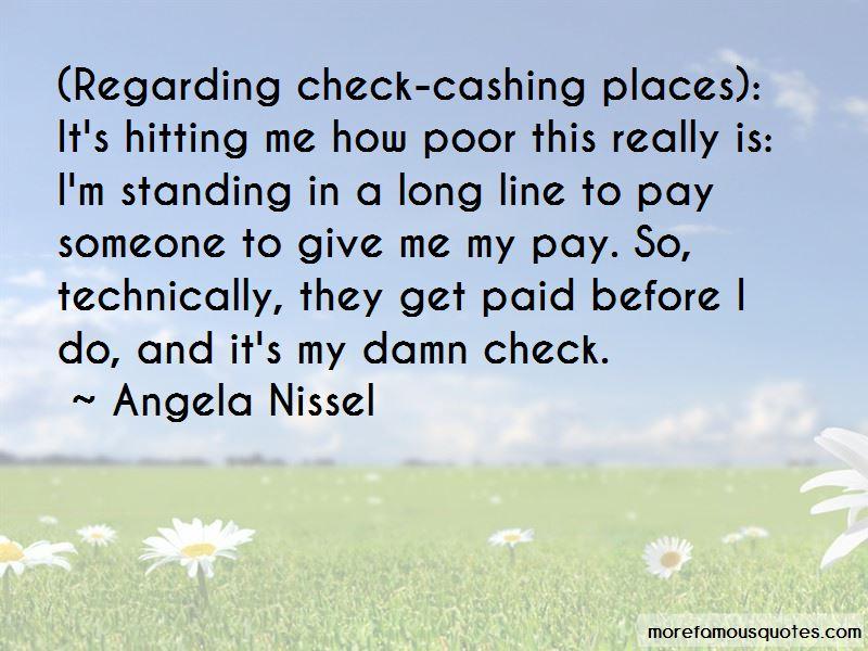 Angela Nissel Quotes