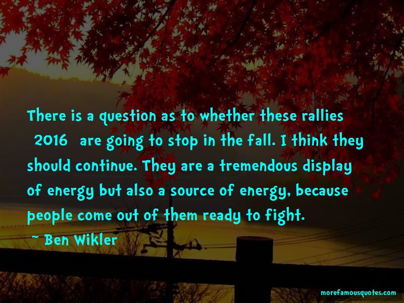 Ben Wikler Quotes Pictures 2