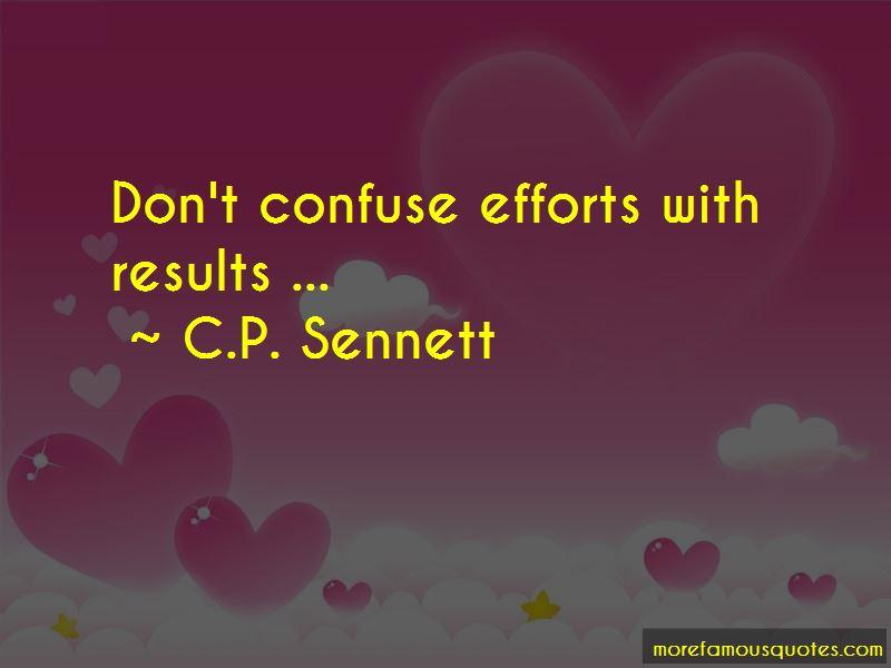 C.P. Sennett Quotes