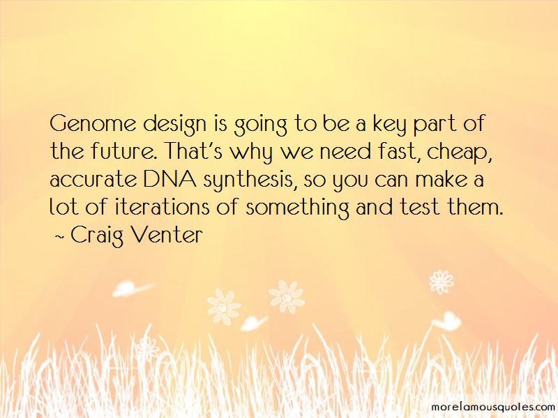 Craig Venter Quotes Pictures 2