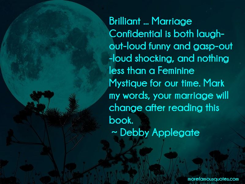 Debby Applegate Quotes Pictures 4
