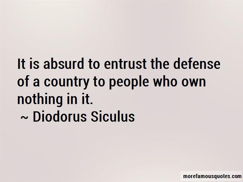 Diodorus Siculus Quotes