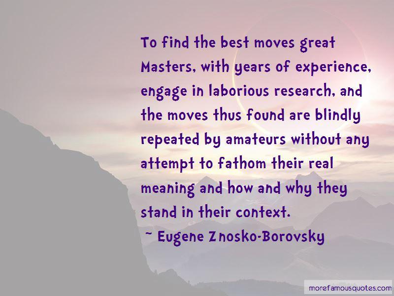 Eugene Znosko-Borovsky Quotes Pictures 3