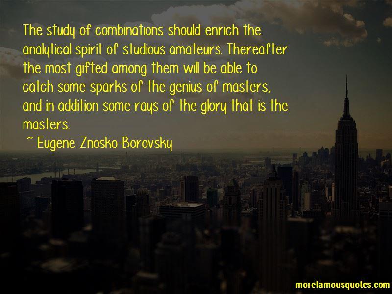 Eugene Znosko-Borovsky Quotes Pictures 4