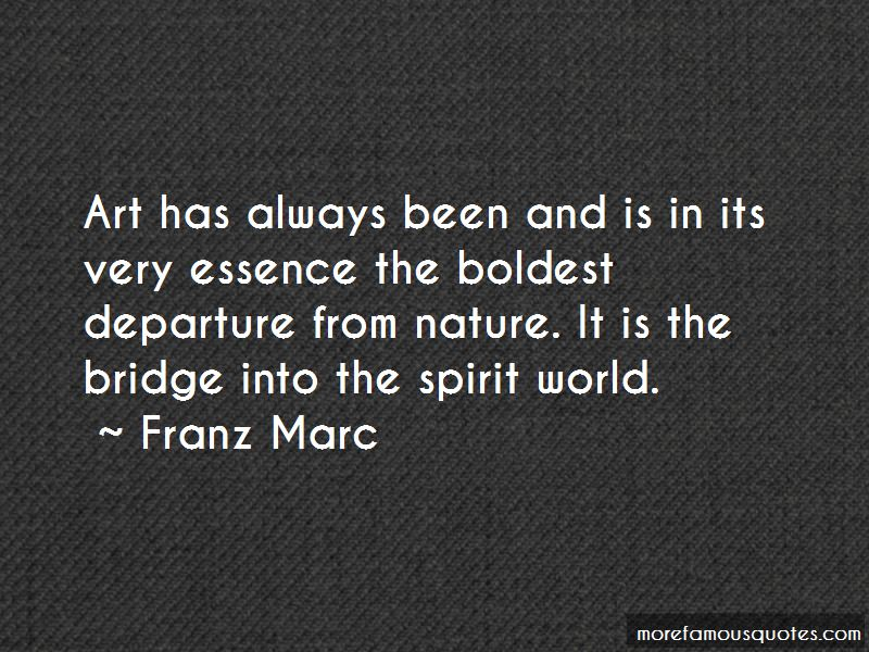 Franz Marc Quotes Pictures 2