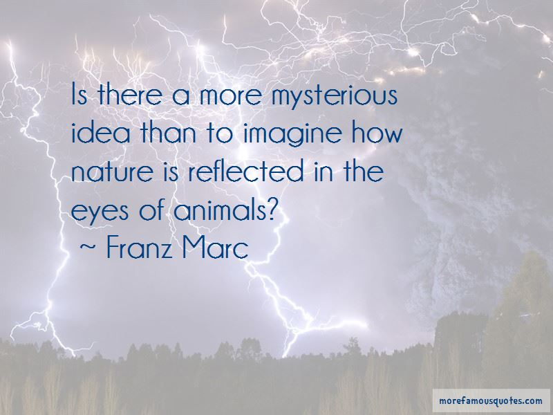 Franz Marc Quotes
