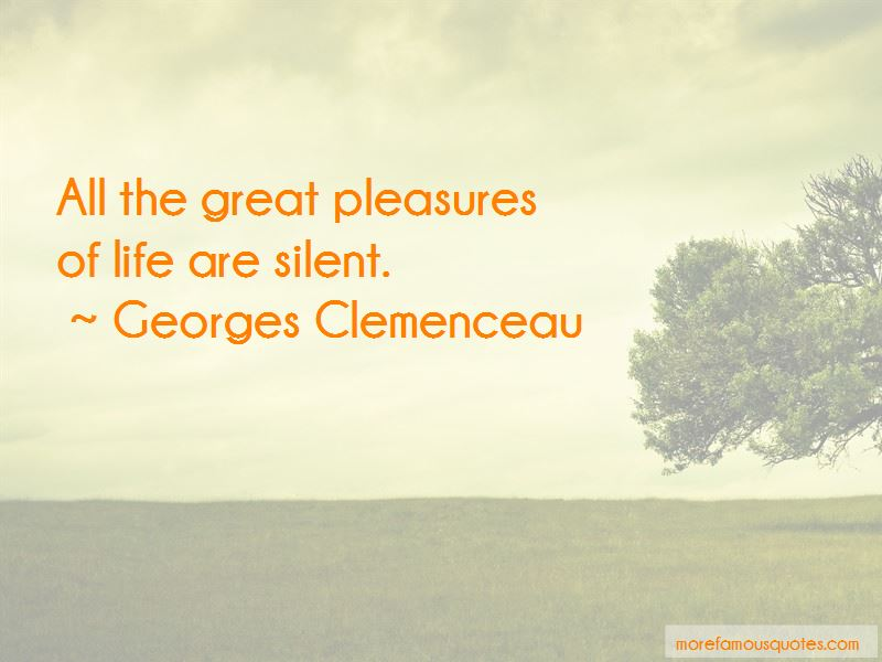 Georges Clemenceau Quotes Pictures 4
