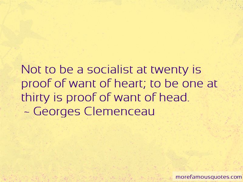 Georges Clemenceau Quotes