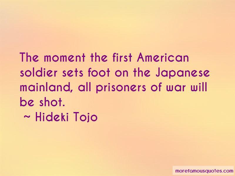 Hideki Tojo Quotes