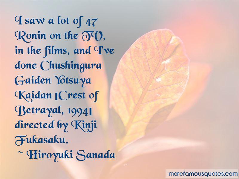 Hiroyuki Sanada Quotes Pictures 3