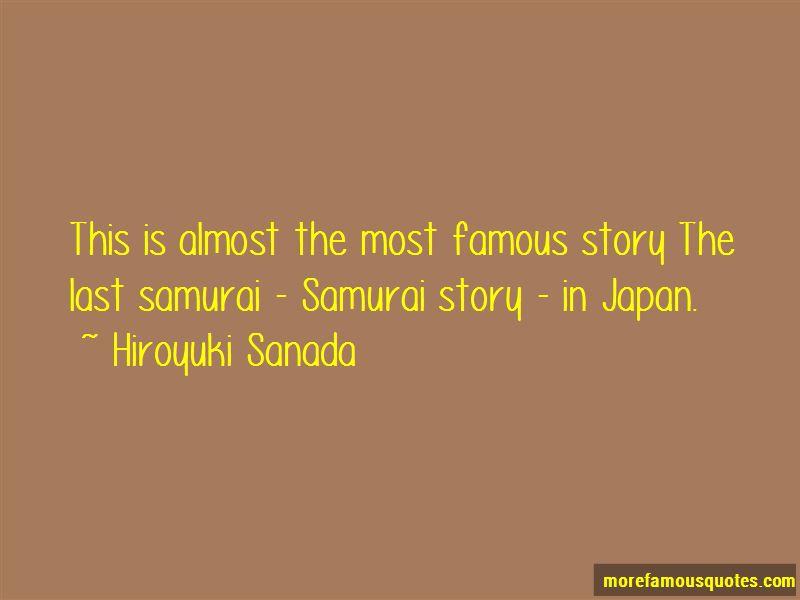 Hiroyuki Sanada Quotes Pictures 4