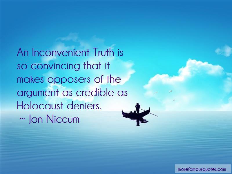 Jon Niccum Quotes