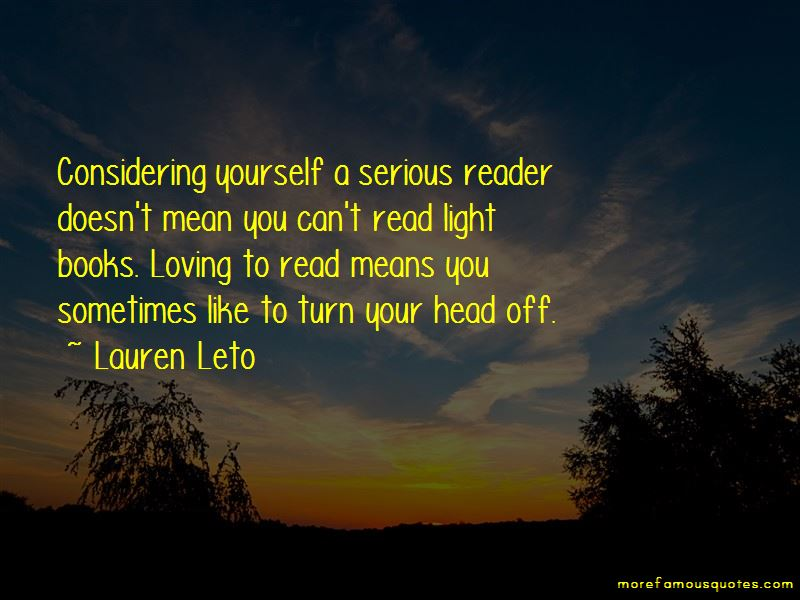 Lauren Leto Quotes Pictures 3