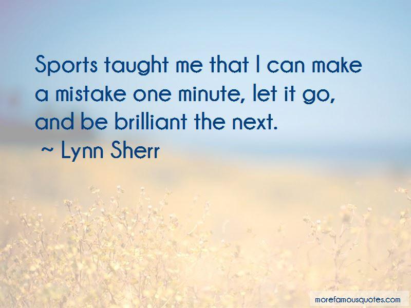 Lynn Sherr Quotes
